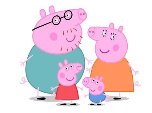 Świnka Peppa Rodzina