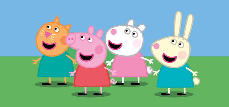 Przyjaciele Świnki Peppy